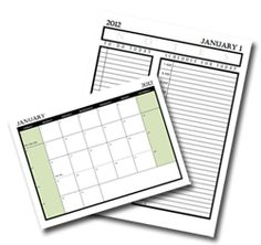 Daily Planner Templates - Lots of options!