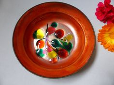 Orange with a dash of Lime! by Janice on Etsy