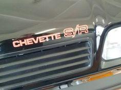 chevette s/r 81 preto impecável raridade colecionador sr