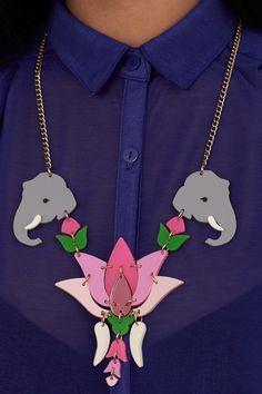 Lotus Flower Celebration Necklace