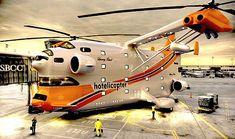 WEB LUXO - HOTÉIS DE LUXO: Hotelicopter, o hotel helicóptero 5 estrelas