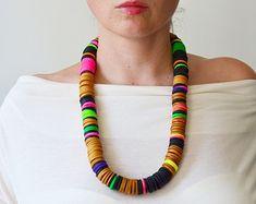 Bib necklace statement/Golden Necklace/ Golden Statement by IKKX