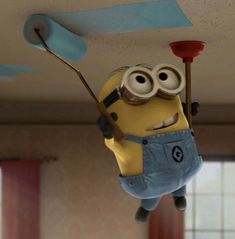 That is called Engineering Minion Rock, Minion Mayhem, Cute Minions, Minions Despicable Me, Humour, Funny Minion Pictures, Minions Quotes, Minion Sayings, Minion Painting