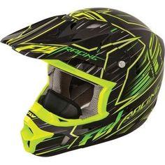 Fly Racing Kinetic Pro Cold Weather Speed Motorcycle Helmet Hi-Vis/Black