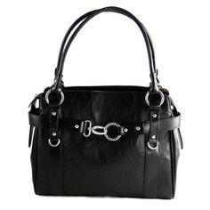 Womens Faux Leather Rina Rich Complete Delight Shoulder Handbag Purse (different colors available)