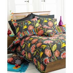 Designed by Riva Paoletti, this bedding is made from soft 100% cotton with a 200 thread count.