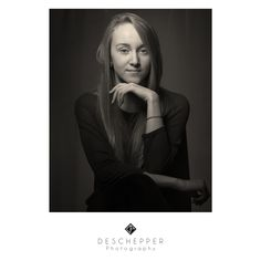 # Portrait # Female # Black&White # Look # Photography # Studio # Deschepper # Photo