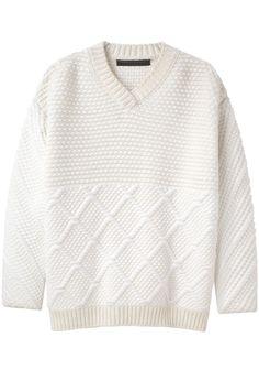 Proenza Schouler / V-Neck Sweater