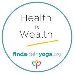 ♦ Deine Gesundheit ist dein größter Reichtum! Und Yoga ist ein hervorragendes Mittel dafür! ⠀ .⠀ ♦ Prof. Dr. Michalsen von der Charité in Berlin hat in einer Studie nachweisen können, dass Yoga zu einer Absenkung des Stresslevels bei seinen Patienten führte, sich die Stimmung besserte und Angst und Depressionen zurück gingen. Das klingt doch hervorragend, oder?! ⠀ .⠀ ♦ Also, tu dir etwas Gutes. Und mach Yoga! ⠀ Besuche dafür am besten einen Kurs. Wenn du alleine zuhause übst und noch… Stress, Angst, Wealth, Berlin, Chart, Yoga, Instagram, Middle, Mood