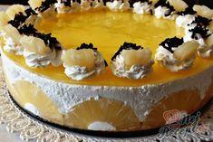 Nepečený ananasovo - kokosový dort | NejRecept.cz