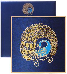 www.regalcards.com – Invite in Style  This splendid Peacock theme invitation card with precise laser cut work is all splendor and grandeur. Surely made to delight one and all.