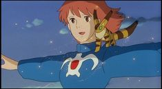 I totally want a fox-squirrel (the fuzzy thing in Nausicaa of the Valley of the Wind). It's so cute!!!! :]