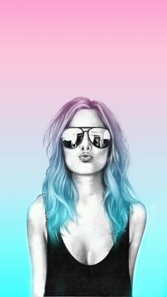 Digital Art Girl, Digital Portrait, Portrait Art, Glitch Wallpaper, Wallpaper Backgrounds, Wallpapers, Girl Interrupted, Cute Girls, Doodle