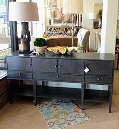 Sleek console @ OP Jenkins Furniture and Design