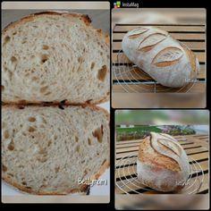 Egyszerű kovászos kenyér – Alaprecept | Betty hobbi konyhája Bread, Food, Brot, Essen, Baking, Meals, Breads, Buns, Yemek