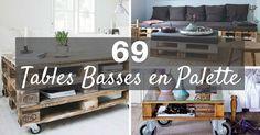 *MISE À JOUR 2017* + de 69 Idées Originales de Tables Basses en Palette. Voir les Plus Belles Tables Basses en Palette pour Vous Lancer ou Vous Inspirer !
