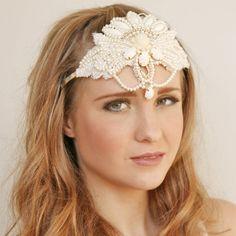 Bridal tiara. Off white tiara. Off white от NiKAAccessories, $72.00