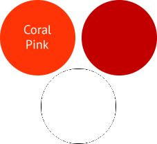 How To Wear Coral Pink For A Shaded Winter (Deep Winter)