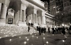 wedding at New York Public library, designed by Jung Lee of event planning firm Fete