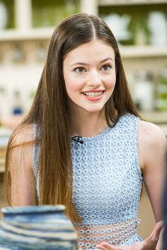 "bella-thorned: """"Mackenzie Foy - Hallmark's 'Home & Family' "" "" Mackenzie Foy, Jim Moriarty, Young Actresses, Female Actresses, John Watson, Wattpad, Famous Girls, Young Female, Elle Fanning"