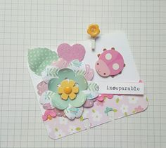 Soft spring colors by Lolly #rolodex #memorydex