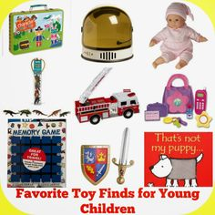 Favorite Toy Finds for Young Children