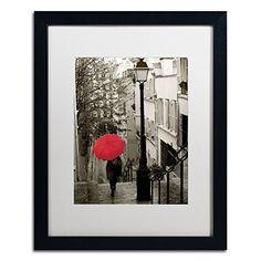 Trademark Fine Art Paris Stroll II Artwork Sue Schlabach in White Matte and Black Frame, 16 by 20-Inch Trademark Fine Art http://www.amazon.com/dp/B00PIPC0TQ/ref=cm_sw_r_pi_dp_T9P4vb00FY79T