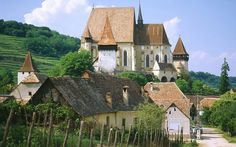Saxon Fortified Church of Biertan, Near Sighisoara in Transylvania region, Romania Oh The Places You'll Go, Places To Travel, Wonderful Places, Beautiful Places, Beautiful Sites, Transylvania Romania, Visit Romania, Famous Castles, Built Environment