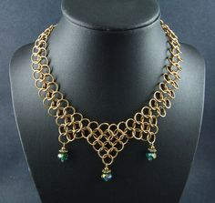 Game of Thrones Chainmail Necklace Gothic Cosplay Steampunk Medieval Hobbit LOTR