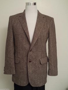 #men accessories ebay men sport 100% virgin wool coat by HAGAR size 38 R light brown Fully Lined withing our EBAY store at  http://stores.ebay.com/esquirestore