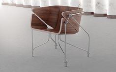 Chair 4 + Vanitas environment by Ivan Venkov #design #furniture #mobilier #chair