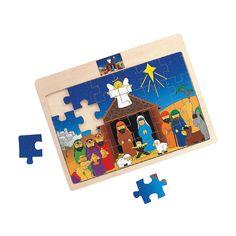 Nativity Puzzle - OrientalTrading.com