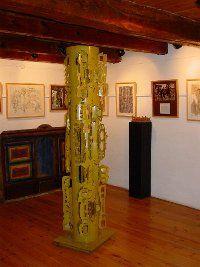 Museo de Artes del Serrablo Angel Orensanz en Sabiñanigo los pirineos