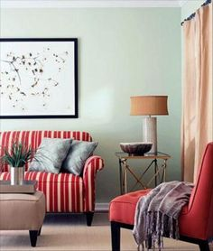 summer color for home decorating red picture