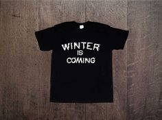 WINTER IS COMING Game of thrones Gra o tron Zapraszamy na www.ddshirt.pl men t-shirt koszulka męska moda odzież fashion