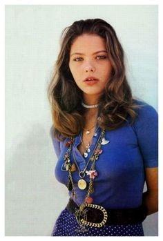 Ornella Muti, pretty young, 1970s
