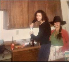 Ritchie Blackmore with ex-girlfriend Judith (Shoshana) Feinstein 1974