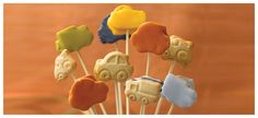 Car Loppipops - this is easy and a must have for children's party - Fazer.fi