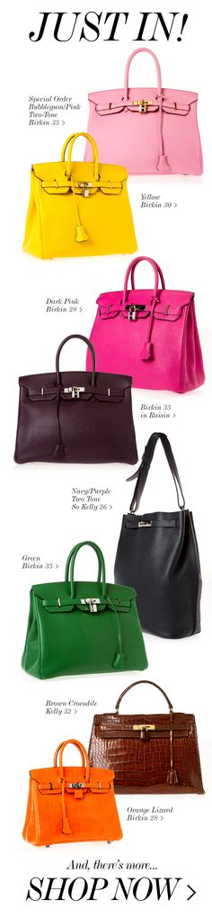 JUST IN: NEW BIRKINS IN EVERY COLOR