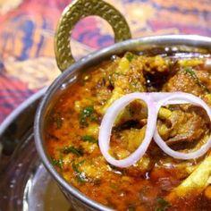 Dalcha Recipe - A meaty specialty straight from Hyderabad. Curry Recipes, Egg Recipes, Sauce Recipes, Vegetarian Recipes, Healthy Recipes, Indian Mutton Recipes, Indian Food Recipes, Ethnic Recipes, Kitchens