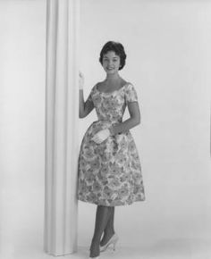 Nancy Anne Fleming, Miss America 1961 :: Joseph Bancroft and Sons Photograph Collection