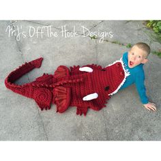 Ravelry: Bulky & Quick Dragon Blanket crochet pattern by MJ's Off The Hook Designs
