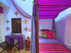 Moroccan Oasis Teen Bedroom : Archive : Home & Garden Television