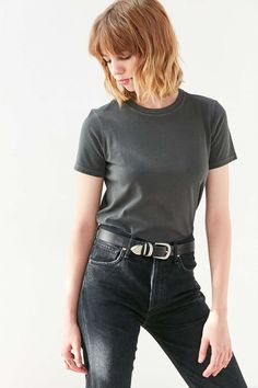 BDG Vienna Crew Neck Tee - Urban Outfitters