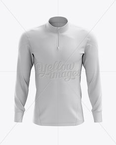 42ff2926c Midlayer Men s Soccer Top Mockup – Front View