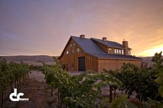 A world-class winery that's also a beautiful custom home.