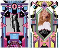 Pink Modes -composites- by POGO , via Behance
