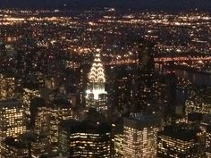 View from 102nd floor - Empire State Building