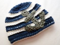 Anchors Away Nautical Crochet