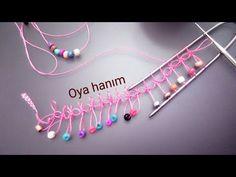 Boncuklu firkete oyası yapılışı - YouTube Hand Embroidery Patterns Flowers, Hand Embroidery Videos, Beginner Crochet Projects, Crochet For Beginners, Diy Crafts Knitting, Hairpin Lace Crochet, Tatting Lace, Lace Making, Irish Crochet